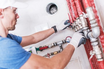 Professional Plumber Work