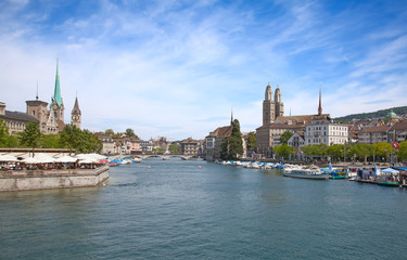 Zurich in summer