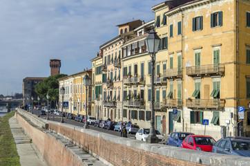 Pisa, la cittadella.