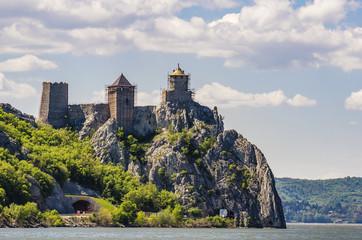 Medieval fortress in Golubac, Serbia