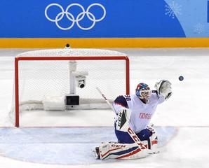 Olympics: Ice Hockey-Men Team Group C - GER-NOR