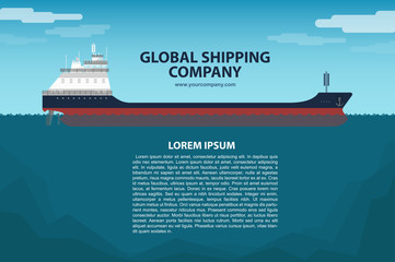 Banner of Globall Shipping company
