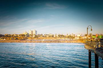 plage de Santa Monica à Los Angeles