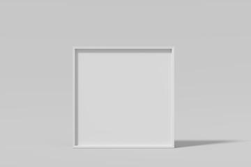 Blank frame for insert text or image inside