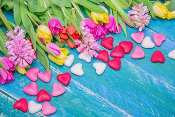 süßes Herzen Blumen