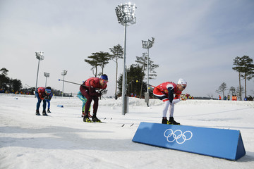 Olympics: Cross Country Skiing-Mens 4 x 10km Relay
