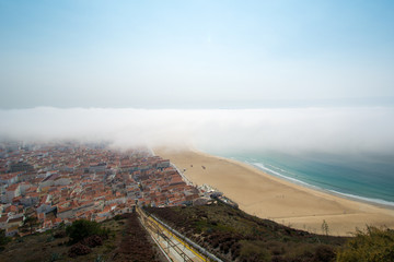 Nazare, Portugal - October, 2017.