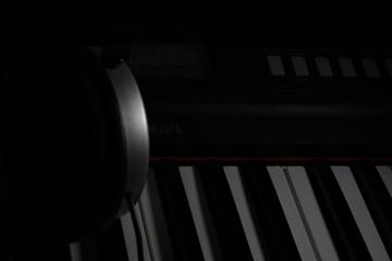 Tastiera Pianoforte con cuffie per la Musica