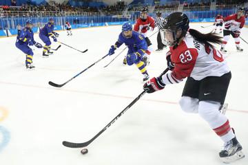 Olympics: Ice Hockey-Women Team Semifinal 5-8-Sweden vs Japan