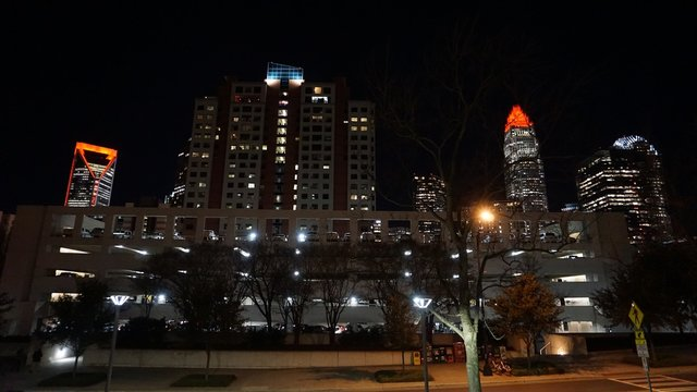 Night  Time In Charlotte