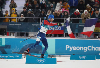 Olympics: Biathlon-Mens 15km Mass Start
