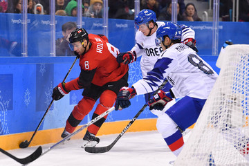 Olympics: Ice Hockey-Men Team Group A - CAN-KOR