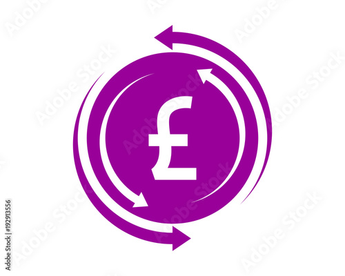 Circle Pound Sterling Currency Financial Money Price Economy Image
