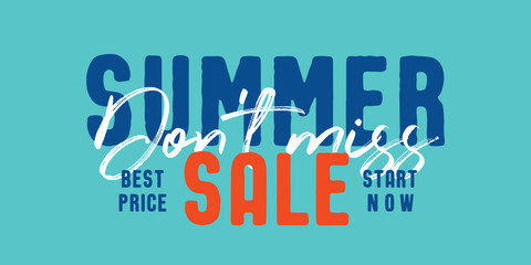 Summer Sale V8 Banner vector heading design fashion style  for banner or poster. Sale and Discounts Concept.