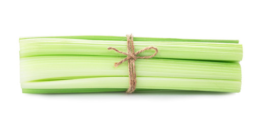 celery sticks isolated