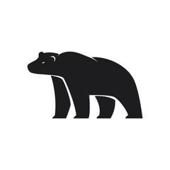 Polar Bear icon on white background