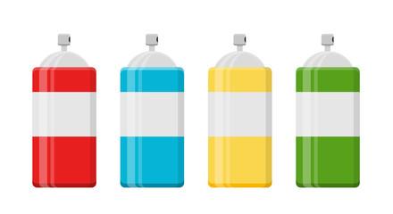 Spraydose Icon Flat Design