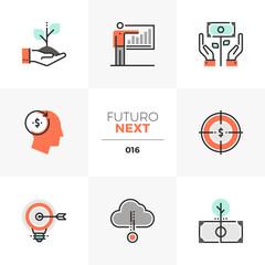 Business Solution Futuro Next Icons