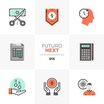 Company Budget Futuro Next Icons