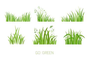 Set Eco grass
