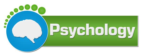 Psychology Green Blue Circular Dots