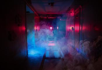 dark room fear quest light effects smoke