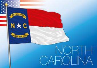 North Carolina federal state flag, United States
