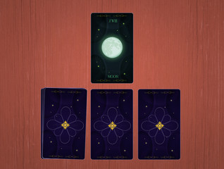 illustration of tarot