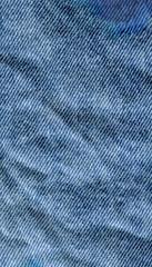 Blue denim jean texture background