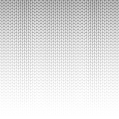 Grey knitted background. Vector illustration.