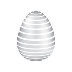 decorative easter egg ornament festive vector illustration