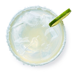 Glass of Margarita cocktail