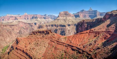 Hiking trail in Grand Canyon National Park, Arizona, USA