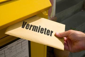 Brief an den Vermieter