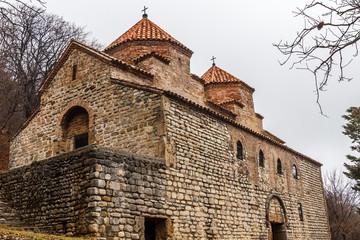 Kvelacminda old VIII century church, Gurdjaani, Kaheti, Georgia