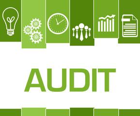 Audit Green Stripes Symbols