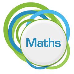 Maths Random Green Blue Rings