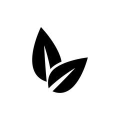 Eco friendly vector icon. Ecological symbol.