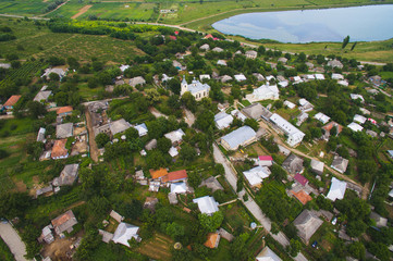 Dron View on Village