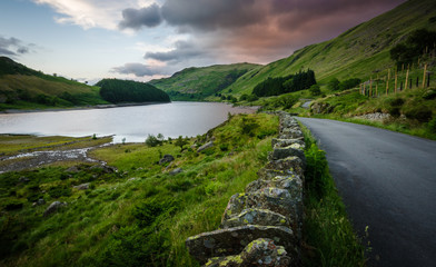 Road by Haweswater Reservoir