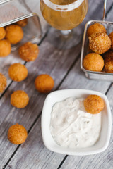 cheese croquettes