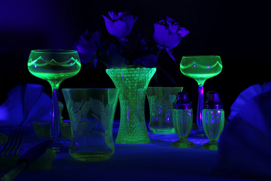 The Wider Image: Collect vintage uranium glass for that peaceful glow