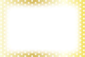 背景素材壁紙,和風,文様,麻の葉柄,伝統模樣,パターン,コピースペース,年賀状,はがきテンプレート