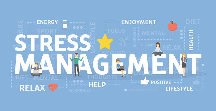 Stress management concept.