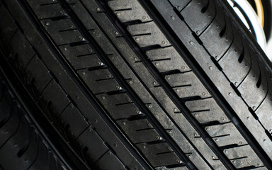 Tyre close up