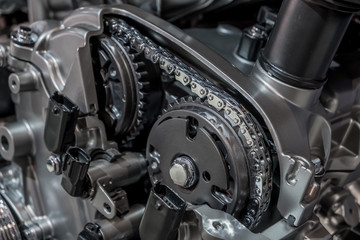 Timing chain in internal combustion engine