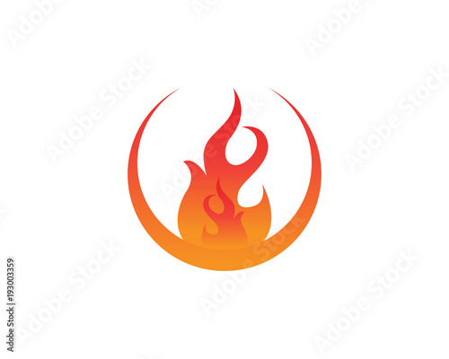 fire logo and symbols template icons app fotolia com の ストック画像