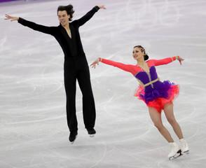 Olympics: Figure Skating-Ice Dance Short Dance