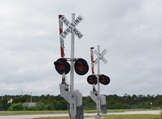 Simple Railroad Crossing