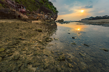 Drini beach is one of beauty BARON beach series, located in South of Yogyakarta city, Java, Indonesia.